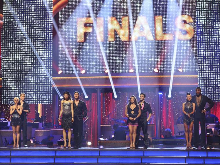 "Image: ""DWTS"" finalists"