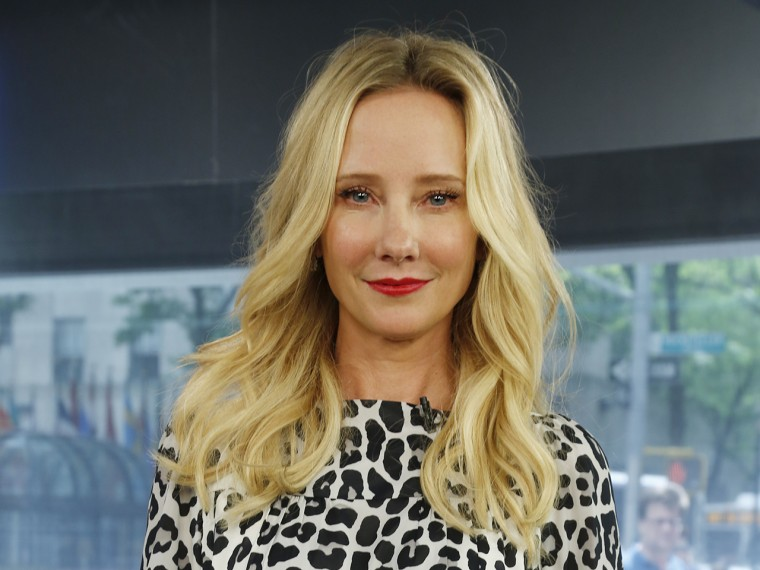 Anne Heche Thursday, May 23, 2013, in New York, N.Y. (Rebecca Davis / TODAY)