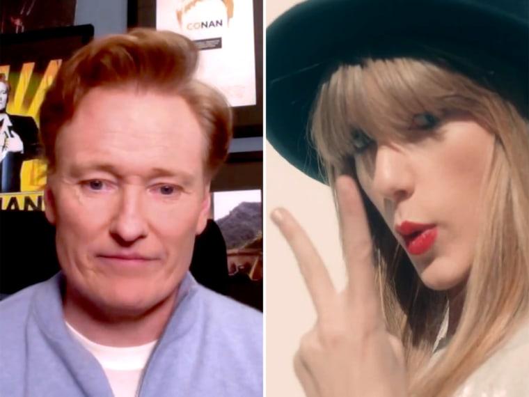 Conan O'Brien, Taylor Swift