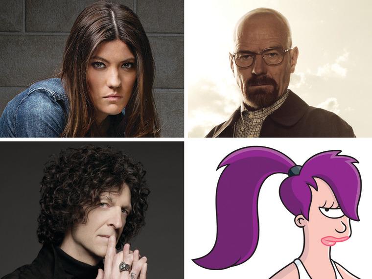 """Image: """"Dexter,"""" """"Breaking Bad,"""" """"AGT,"""" """"Futurama"""""""