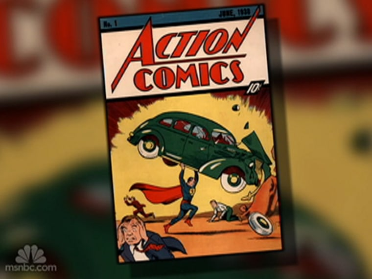 Image: Action Comics #1 book starring the new character Superman