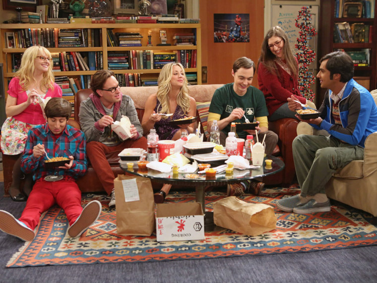 "Image: Cast of ""The Big Bang Theory."""