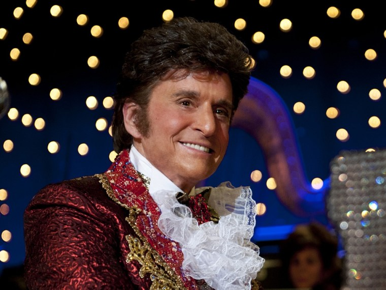 """Michael Douglas as Liberace in \""""Behind the Candelabra.\"""""""