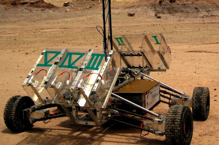 York University's 2012 winning rover. The team returns next week to defend its title.