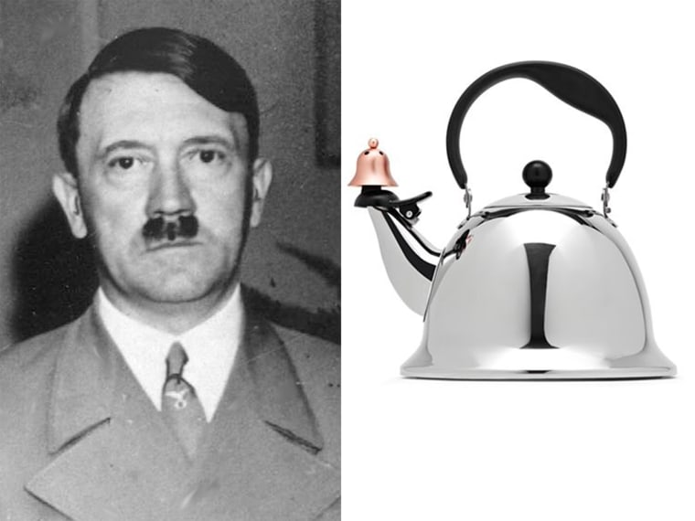 Commenters online noticed a resemblance between Hitler and this J.C. Penney tea kettle.