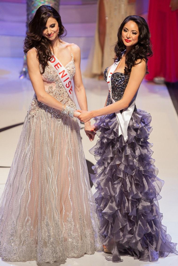 Riza Santos and Denise Garrido.
