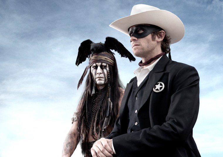 Johnny Depp and Armie Hammer in