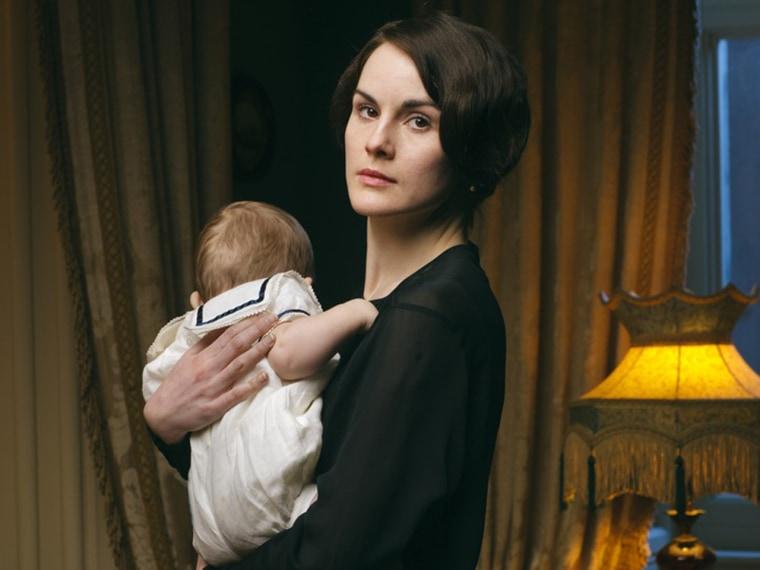 "Michelle Dockery as Lady Mary Crawley on ""Downton Abbey."""