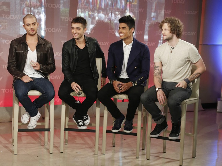 The Wanted Thursday, May 30, 2013, in New York, N.Y. (Rebecca Davis / TODAY)