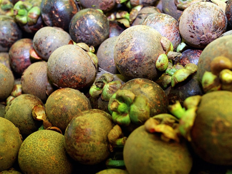 Mangosteens, a delicious tropical fruit, may carry a yeast that can help prevent diarrhea in people taking antibiotics. A new analysis says probiotics, like this yeast and some bacteria, may prevent the most dangerous types of diarrhea linked to antibiotic use.