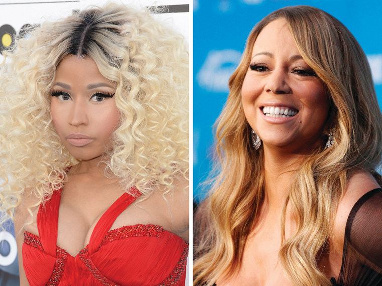 Image: Nicki Minaj, Mariah Carey
