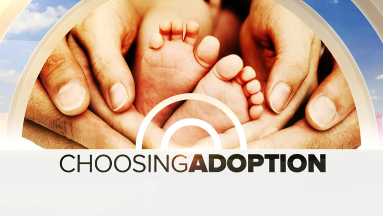 "TODAY's week long series ""Choosing Adoption"" begins Monday, November 4."