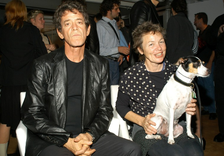 Lou Reed and Laurie Anderson in 2003.