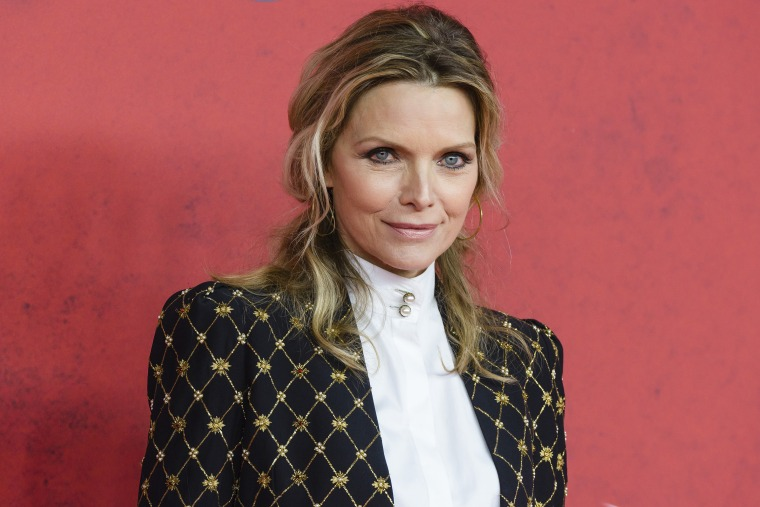 """Michelle Pfeiffer didn't think being """"breatharian"""" was a sustainable diet,  despite what she was being told."""