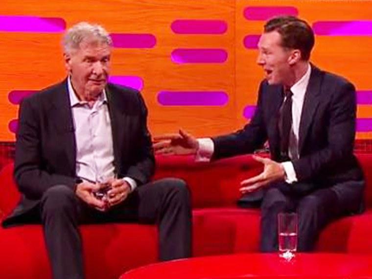 Image: Harrison Ford, Benedict Cumberbatch