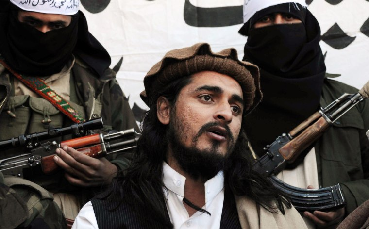 Pakistani Taliban commander Hakimullah Mehsud, seen here in 2008, was killed by a U.S. drone strike on Friday. His group has been blamed for 45,000 deaths but it is not considered the region's most dangerous militant organization.