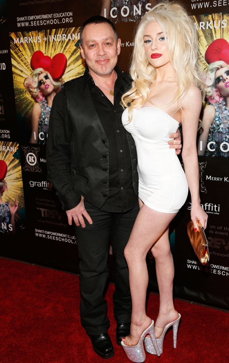 Doug Hutchison and Courtney Stodden.