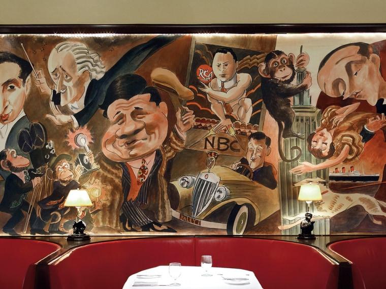 Edward Sorel's untitled mural.