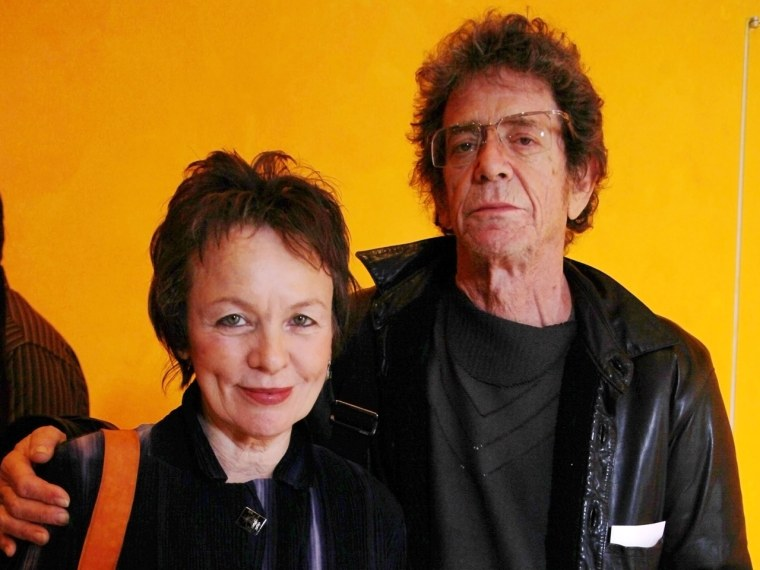 Image: Laurie Anderson and Lou Reed
