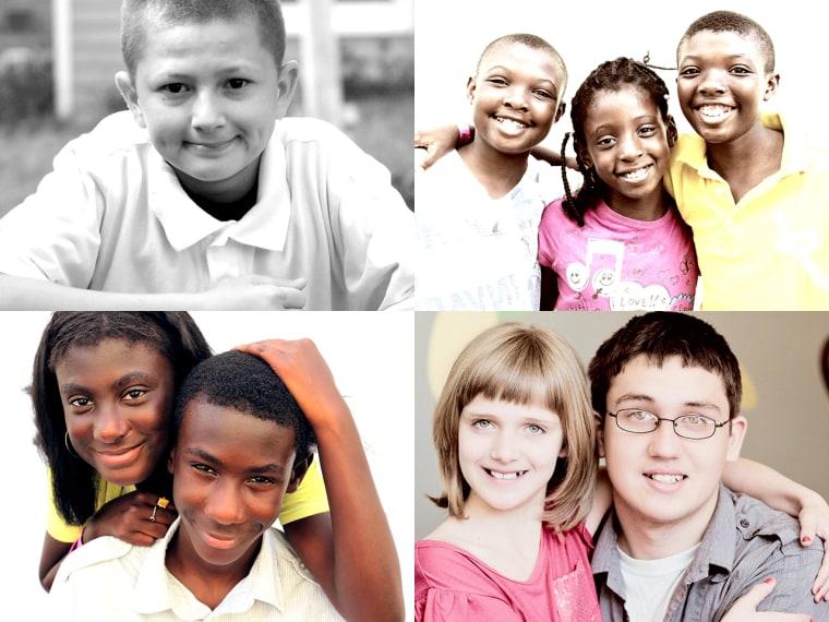 Image: Foster kids