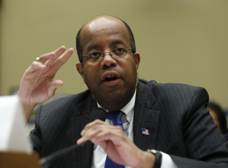 J. Russell George, treasury inspector general for tax administration, says identity theft is
