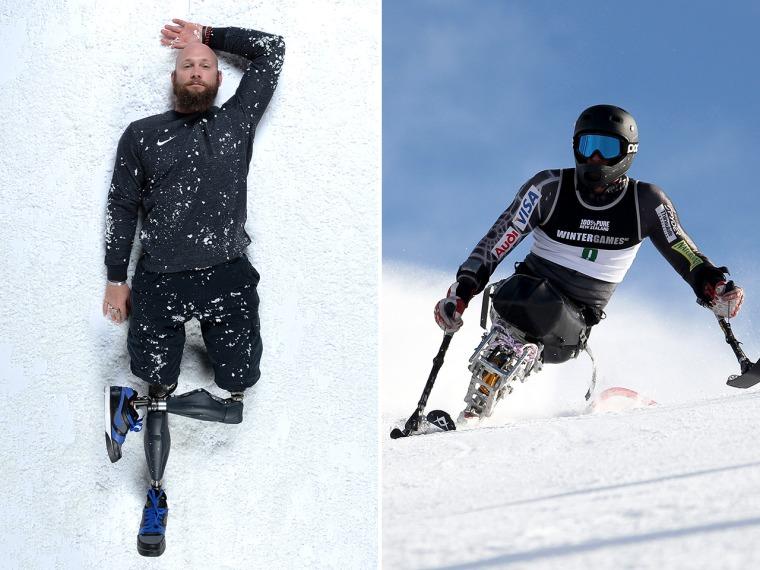 Health Calhoun, Paralympian