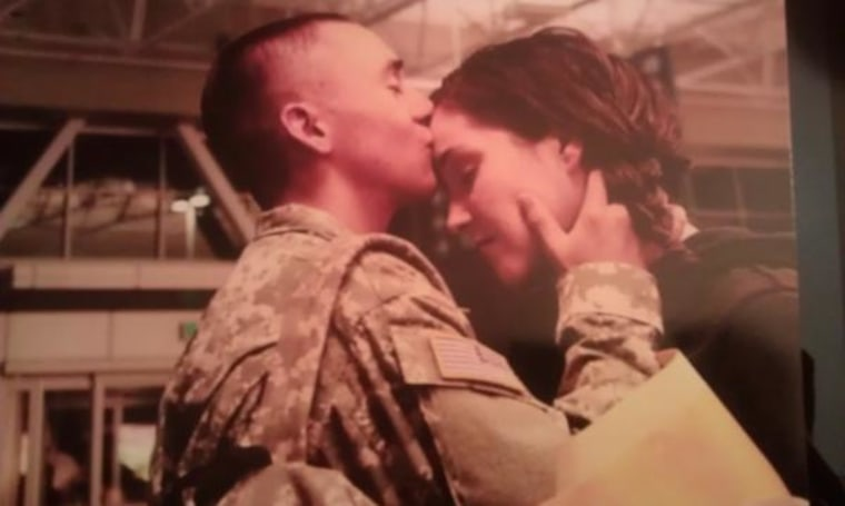 Submitted By: Tina Smithee-Ortiz This is my husband PFC Robert Ortiz. He is currently deployed and we are expecting our third child. He inspires me everyday with his positive outlook on even the most daunting situation. He is our rock, our cornerstone and our absolute everything!
