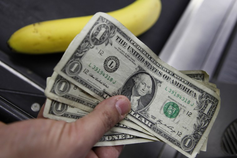 It's bananas to be an all-cash business, some experts say.