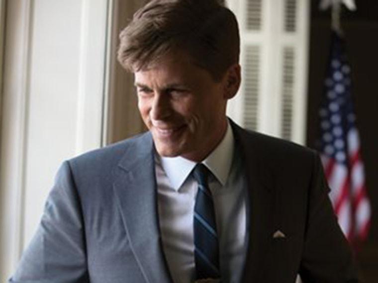 IMAGE: Rob Lowe as President John F. Kennedy