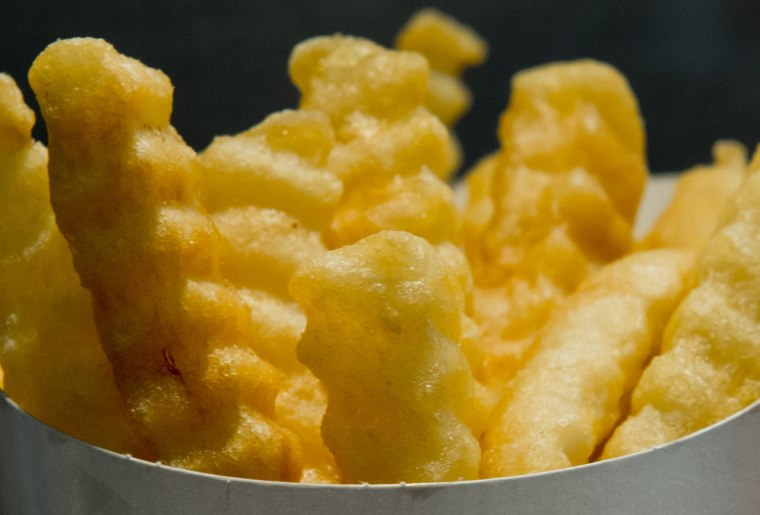 Burger King introduced Satisfries, low-calorie french fries, in September. The new fries have 30 percent less fat and 20 percent fewer calories.