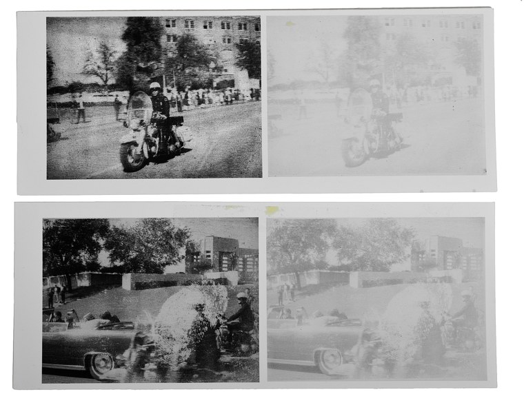 Image: Photos from JFK's assassination