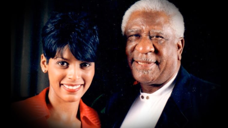 TODAY's Tamron Hall and her stepfather, Clarence Newton Sr.