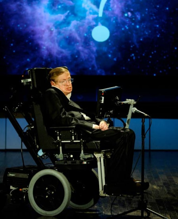 Hawking says not finding Higgs boson would be 'more interesting'