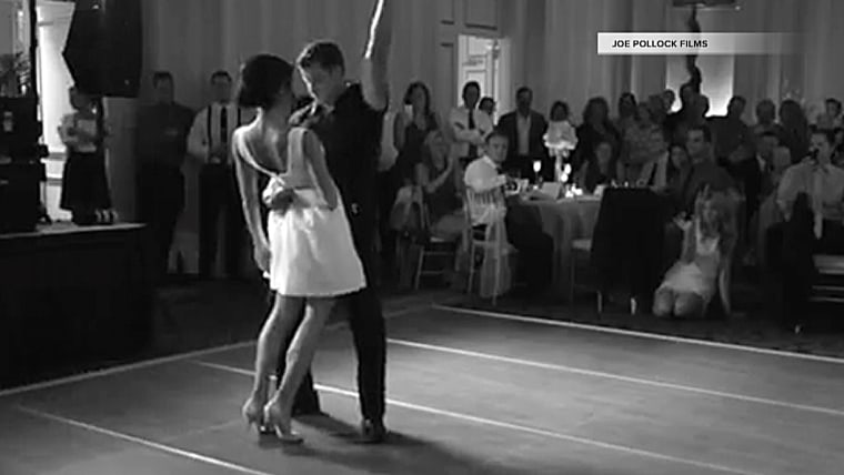 """Image: """"Dirty Dancing"""" couple"""