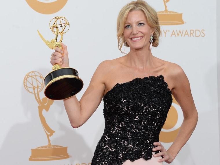 Anna Gunn wins her first Emmy.