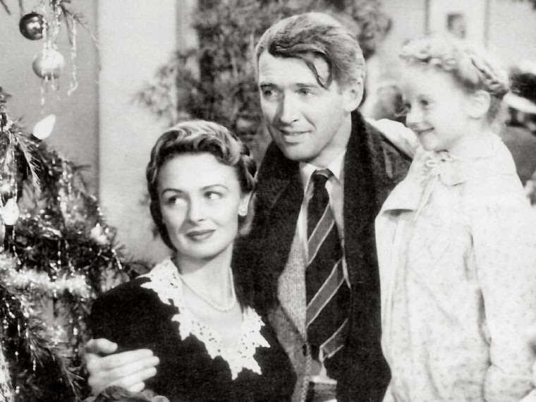 """Donna Reed and Jimmy Stewart won't be able to return for an \""""It's a Wonderful Life\"""" sequel, but Karolyn Grimes, who played Zuzu, will appear as an angel."""