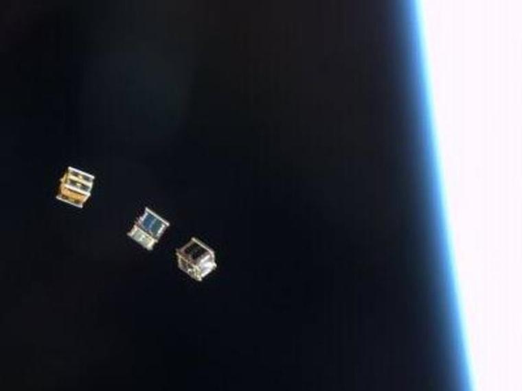 Image: Satellite release