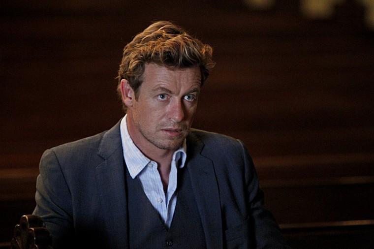 """Simon Baker is Patrick Jane on """"The Mentalist."""""""