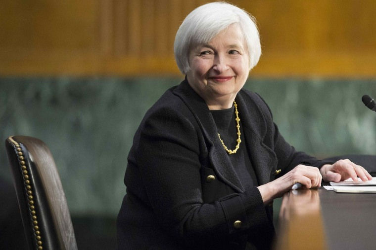 Next? Federal Reserve Vice Chair Janet Yellen has jumped the first hurdle toward taking her boss's job as central bank chief.