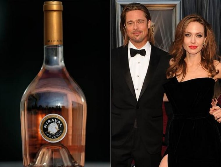 Experts give Brangelina's wine two thumbs up