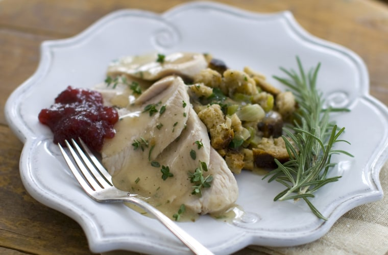 Chef Rocco DiSpirito's recipe for Thanksgiving dinner. This recipe takes roughly an hour and a half to make, far less t...