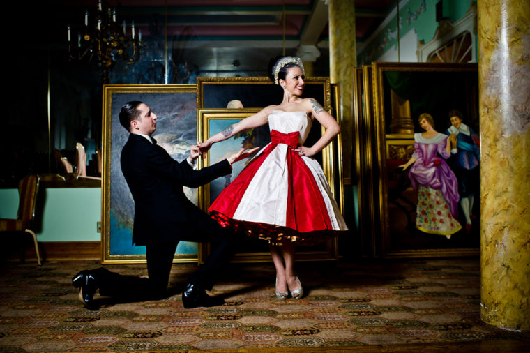 Pontani and Newman wedding