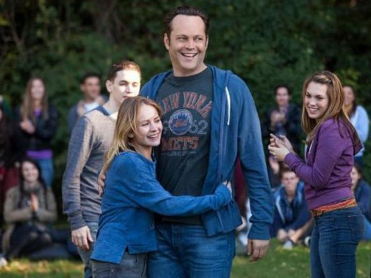 Vince Vaughn in the movie Delivery Man