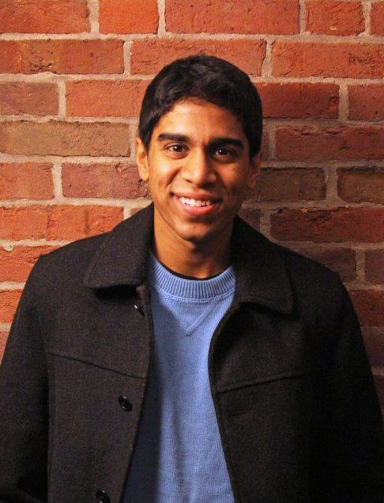 Yale University Vinay Nayak is seen in an undated photo provided by Nayak.