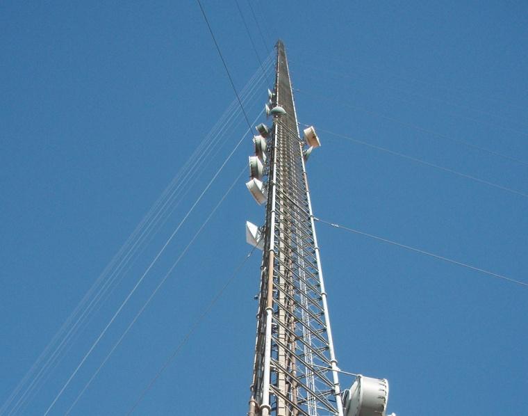 A tower in Walnut Grove, California,