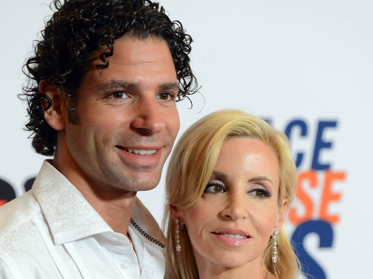 Dimitri Charalambopoulos and Camille Grammer.