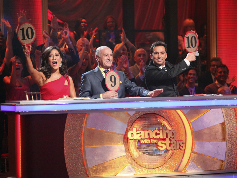 """Image: \""""Dancing With the Stars\"""" judges"""