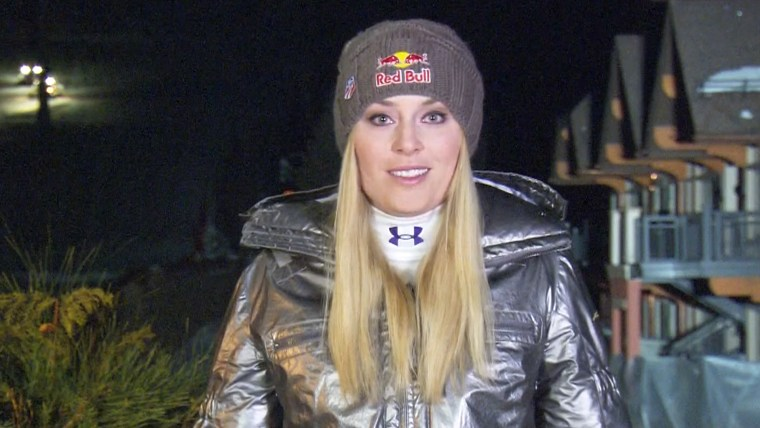"Lindsey Vonn told Matt Lauer she's ""feeling good"" ahead of the Sochi Games."