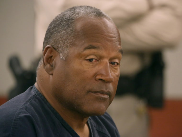 O.J. Simpson appears in court at Clark County Regional Justice Center in Las Vegas, Monday, May 13, 2013.