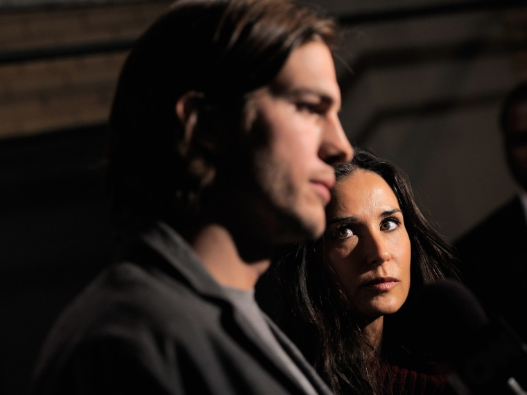 Actors Ashton Kutcher and Demi Moore finalized their divorce on Tuesday in Los Angeles.